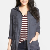 Women's Caslon Four-Pocket Anorak,