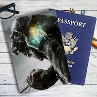 Dishonored 2 Games Leather Passport Wallet Case Cover