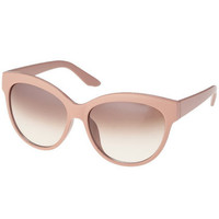 Classic Rounded Apricot Sunglasses [AKD0063] - $10.99 :