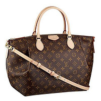 LV Women Shopping Leather Louis Vuitton Turenne Handbag Shoulder Bag Purse (GM)