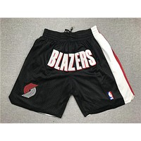 Just Don Portland Trail Blazers Basketball Sports Shorts - Best Deal Online