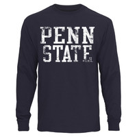 Penn State Nittany Lions Straight Out Long Sleeve T-Shirt – Navy Blue