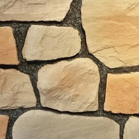 Black Bear Manufactured Stone - Random Rock - Traditional - Wall Panels - by BD Manufacturing