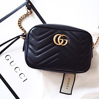 GUCCI women's casual all-match chain bag shoulder bag