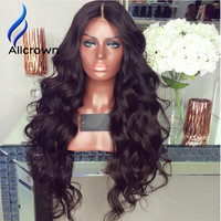 Brazilian Body Wave Full Lace Wig Human Hair With Baby Hair 10a Brazilian Lace Front Wig Wavy Front Lace Wig For Black Women