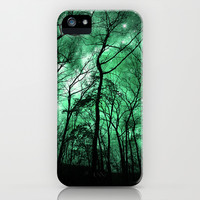 The Trees Reach Out at Night iPhone & iPod Case by Caleb Troy