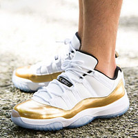 Inseva Air Jordan 11 Low Top New fashion hit color sports leisure shoes