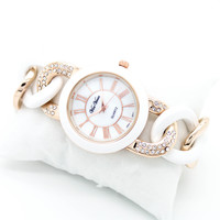 Bold chain watch (2 colors)