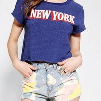 Urban Outfitters - Project Social T New York Cropped Sweatshirt