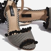 ROM Pom Pom Sandals - New In Fashion - New In
