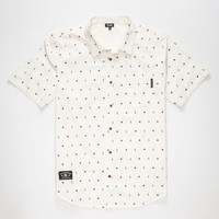 Lrg No Justice No Peace Mens Shirt Off White  In Sizes