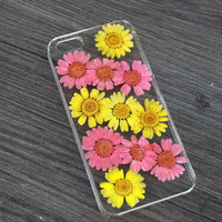 Uniqued pressed flowers leaf case 100% handmade For iPhone 4 4s 5 5s 6 6 plus Samsung S3 S4 S5 Note 2 Note 3 Note 4 skin