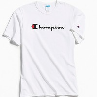 Champion Script Ink Tee | Urban Outfitters