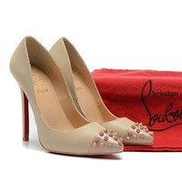 CL Christian Louboutin Fashion Heels Shoes-113