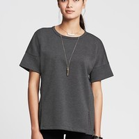 Petite - Dark heather gray