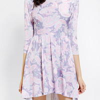 Urban Outfitters - One & Only X Urban Renewal High/Low Skater Dress