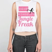 Mean Girls Tank-Female White Tank