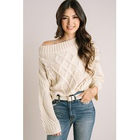 Aspen Off the Shoulder Knit Sweater