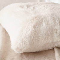 Plum & Bow Faux Fur Pillow | Urban Outfitters