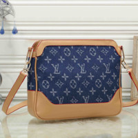 Louis Vuitton LV Woman Leather Fashion Crossbody Shoulder Bag Satchel