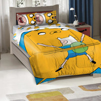 Adventure Time Twin/Full Size Comforter Bedding Set |