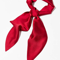 Silky Wrap Neck Tie Scarf | Urban Outfitters