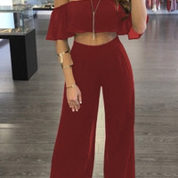 'BABS' Two Piece Romper Set