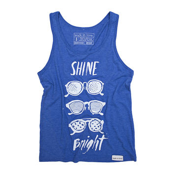 Shine Bright Royal Blue Tank