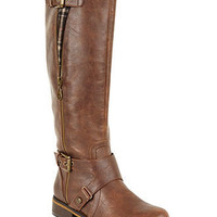 G by GUESS Women's Shoes, Hertlez Wide Calf Riding Boots - Boots - Shoes - Macy's