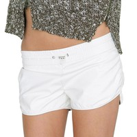 Angel's Shorts - Ivory Leather
