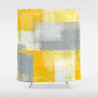 Sneaky Shower Curtain by T30 Gallery