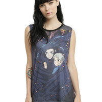 Studio Ghibli Howl's Moving Castle Embrace Girls Muscle Top