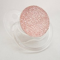 Sparkly Pink Pacifier (PGP):Amazon:Baby