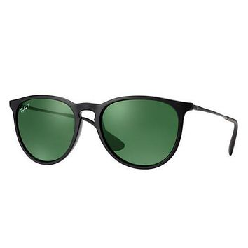 Cheap Ray Ban RB4171 601 2P Black Frame Green G-15 Polarized 54mm Lens Sunglasses outlet