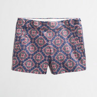 """Factory 5"""" printed stretch chino short - Women - early_access_0214's View All - J.Crew Factory"""