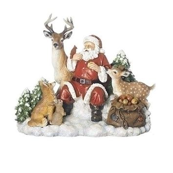 Roman Santa with Animals-131536