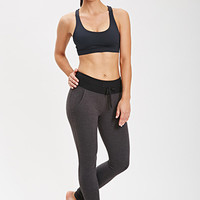 High-Waisted Colorblocked Studio Leggings