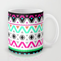 Neon Mix #3 Mug by Ornaart