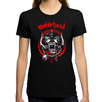 Motorhead Everything Louder Than Everything Else T-Shirt For Women