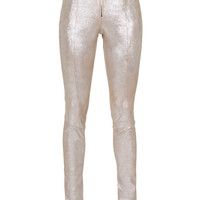 SLY 010  Sparkle Queen Nude Glittering leather skinny - What's new