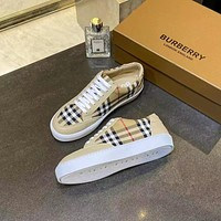 BURBERRY 2021Men Fashion Boots fashionable Casual leather Breathable Sneakers Running Shoes08200gh