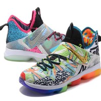 "Nike Zoom LeBron James 14 New Color ""Super Cool Version"" Basketball Shoes"