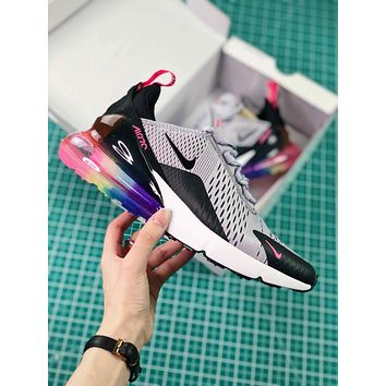 Nike Air Max 270 Be True Multi Color Ar0344-500 Betrue Sport Running Shoes