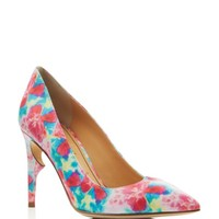 Jerome C. Rousseau Morier Floral Pointed Toe Thorn Pumps | Bloomingdales's
