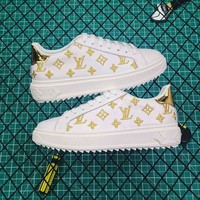 Louis Vuitton LV Time Out Gold Sneaker - Best Online Sale