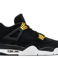air jordan 4 retro royalty basketball sneaker