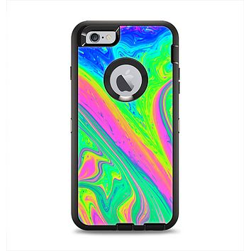 The Neon Color Fushion V3 Apple iPhone 6 Plus Otterbox Defender Case Skin Set