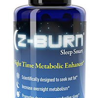 "Z-burn -- 60 Capsules -- Night Time Fat Loss Supplement - ""Sleep Great, Lose Weight!"" Guaranteed Results"