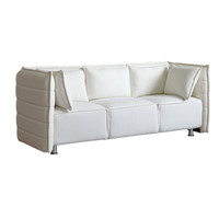 Sofata Sofa, White Wool