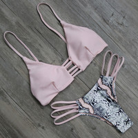 Sexy Beachwear Push Up Bikini Set For Women